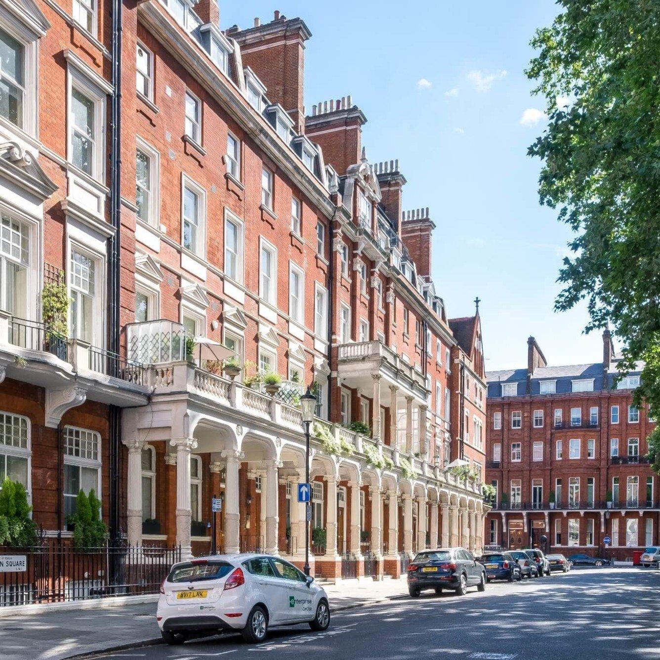 Cadogan Square grade listed victoria building - luxury maisonette refurbishment