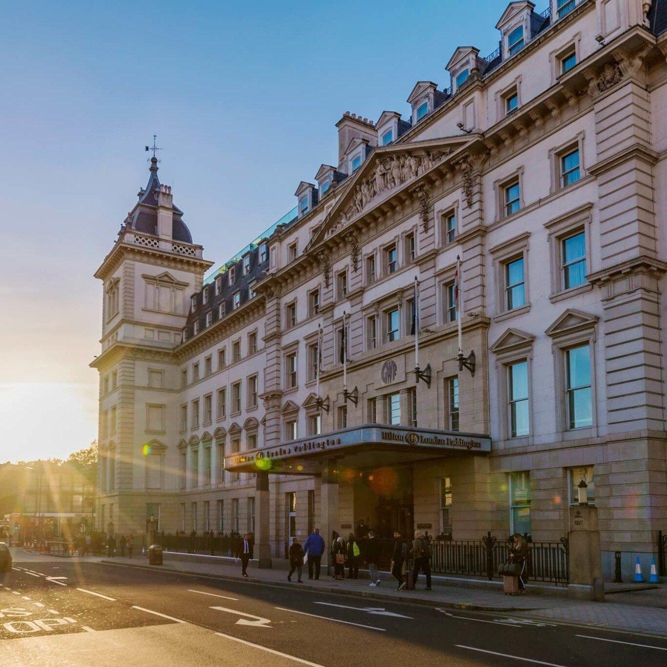 Hilton London Paddington - Facade of the building