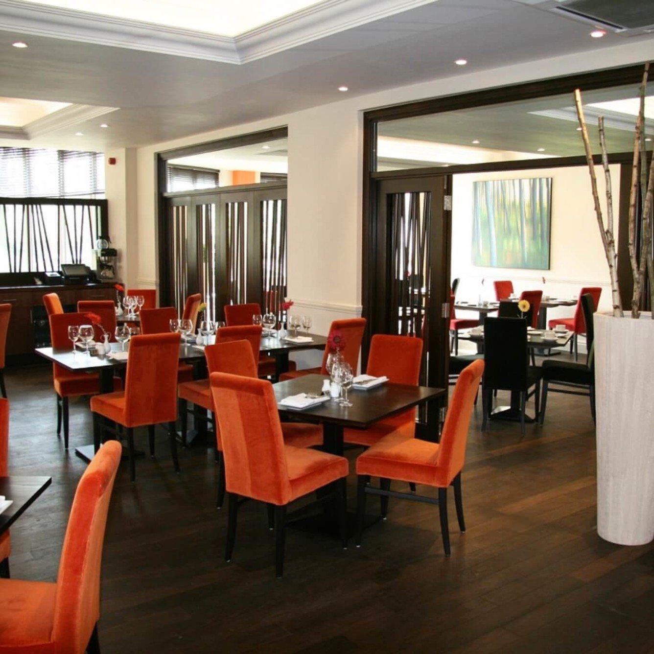 Chelteham Lakeside restaurant refurbishment - view on main dining area